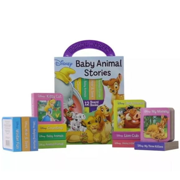 "Disney Baby Animal Stories ""My First Library"" Set"